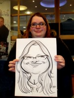 Corporate Caricature Artists Europe Uk